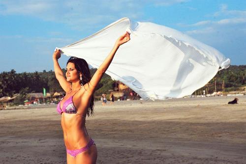 Leryn Franco in a bikini