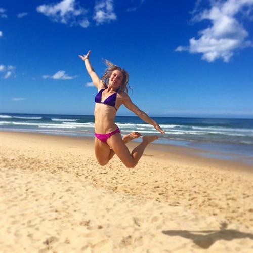 Chelsea Jaensch in a bikini