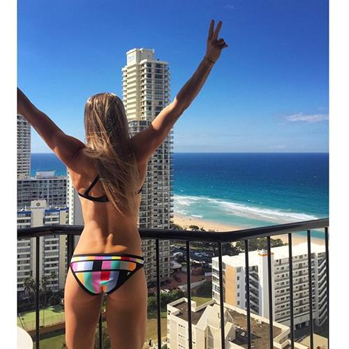 Chelsea Jaensch in a bikini - ass