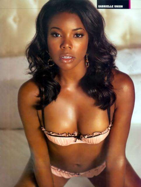 Gabrielle Union in lingerie