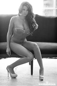 Jenna Mariah Balsley in lingerie