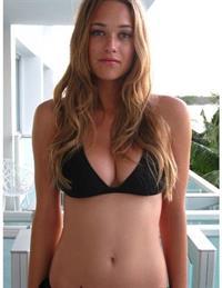 Holly Haerr in a bikini