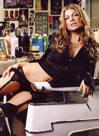 Stacy Ferguson in lingerie