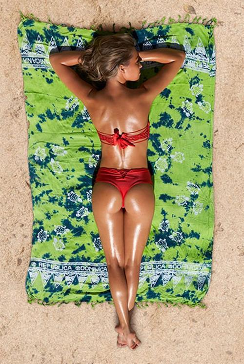Caroline Kelley in a bikini - ass