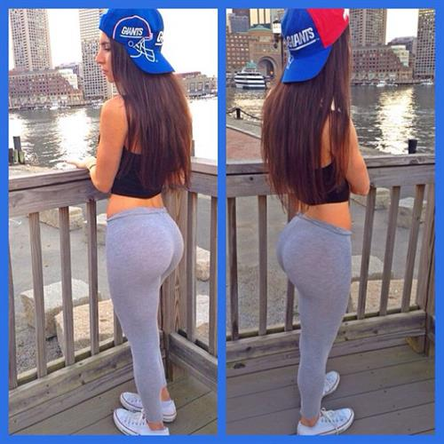 Jen Selter in Yoga Pants - ass