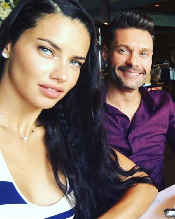 Adriana and Ryan are apparently dating!