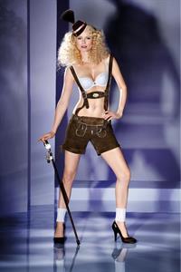 Franziska Knuppe in lingerie