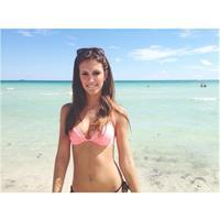 Betsy Alvarez in a bikini