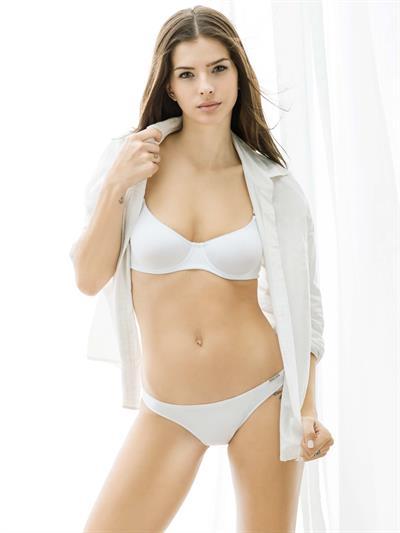 María Eugenia Suárez in lingerie