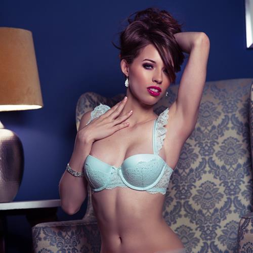 Caitlin McSwain in lingerie