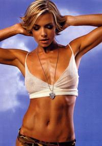 Jaime Pressly in lingerie - breasts