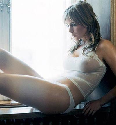 Anine Bing in lingerie - breasts