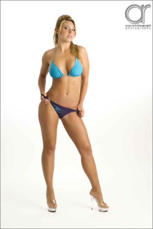 Mallory Clark in a bikini
