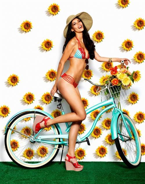 Tiffany Keller in a bikini