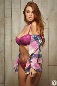 Leanna Decker in lingerie