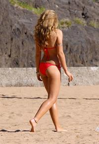 Amy Willerton in a bikini - ass