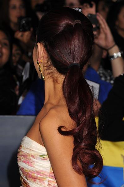 Ariana Grande at the Breaking Dawn Part 2 premiere