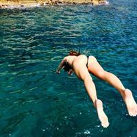 Sofia Sanchez de Betak in a bikini - ass