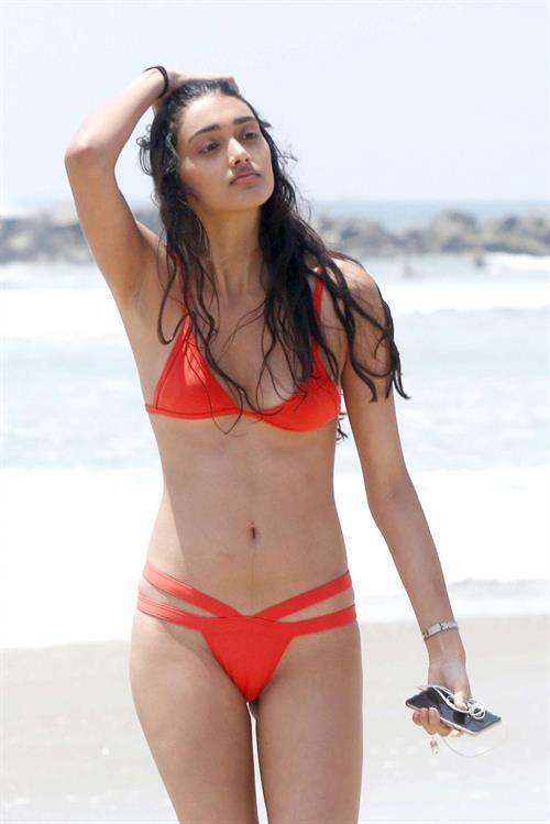 Neelam Gill in a bikini