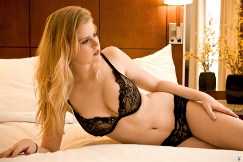 Haley Sorenson in lingerie