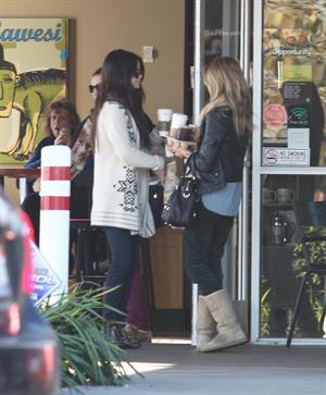 Selena Gomez in Burbank January 16, 2013