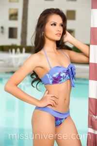Janine Tugonon in a bikini