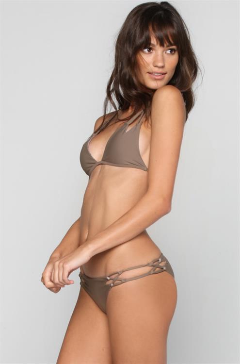 Keilani Asmus in a bikini