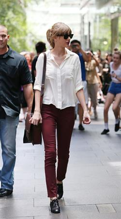 Taylor Swift out shopping in Sydney, Australia