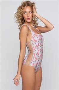 Allie Silva in a bikini