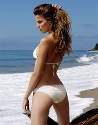 Cameron Russell in a bikini