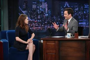 Kristen Stewart Late Night with Jimmy Fallon 11/7/12