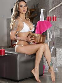 Nadia Styles in a bikini