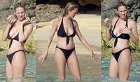 Uma Thurman in a bikini