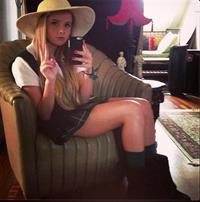 Angelika Nina Melnyk taking a selfie