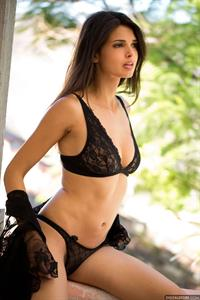 Jasmine Andreas in lingerie