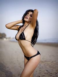 Louise Cliffe in a bikini