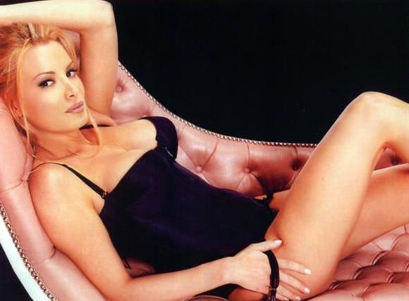 Cindy Margolis in lingerie