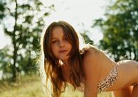 Isabelle Cornish in a bikini