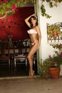 Karen McDougal in lingerie