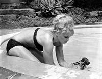 Elke Sommer in a bikini