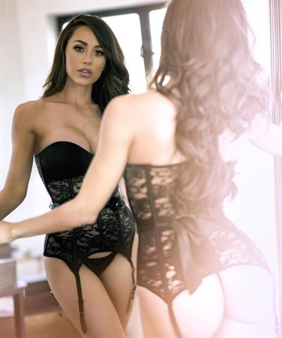 Ana Cheri in lingerie - ass