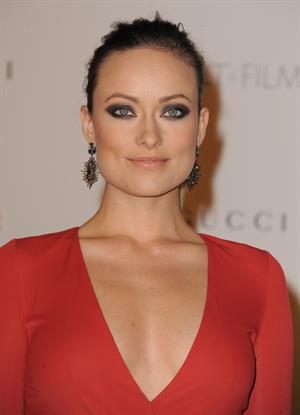 Olivia Wilde LACMA Art Film Gala honoring Clint Eastwood and John Baldessari presented by Gucci November 05, 2011