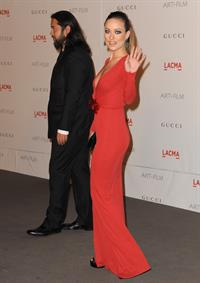 Olivia Wilde LACMA Art Film Gala honoring Clint Eastwood and John Baldessari presented by Gucci November 05, 2011
