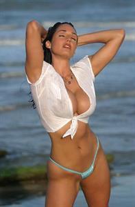 Kellie Maines in a bikini - breasts