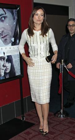Olivia Wilde Deadfall Premiere at Arclight Cinemas in Hollywood - November 29, 2012