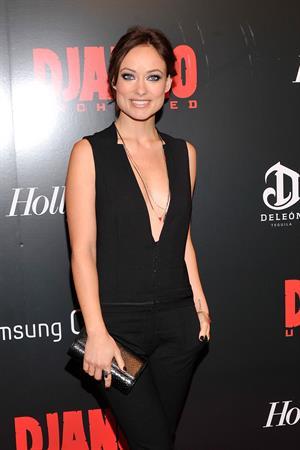 Olivia Wilde 'Django Unchained' screening in New York City 12/11/12