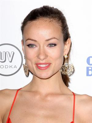 Olivia Wilde Artists for Haiti Benefit at Track 16 Gallery on January 28, 2010 in Santa Monica California