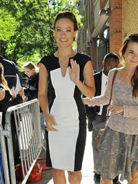 Olivia Wilde - Arriving to a studio to appear on 'Live With Kelly' in New York - September 11,2012