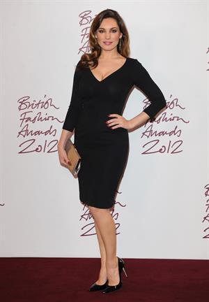 Kelly Brook British Fashion Awards in London 11/27/12