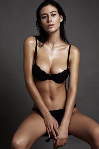 Alejandra Guilmant in lingerie